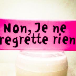 Je ne regretterien